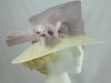 Debut Lilac and Ivory Occasion Hat